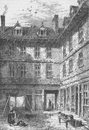 HOLBORN VIADUCT Goldsmith's House, Green Arbour Court, about 1800. London c1880